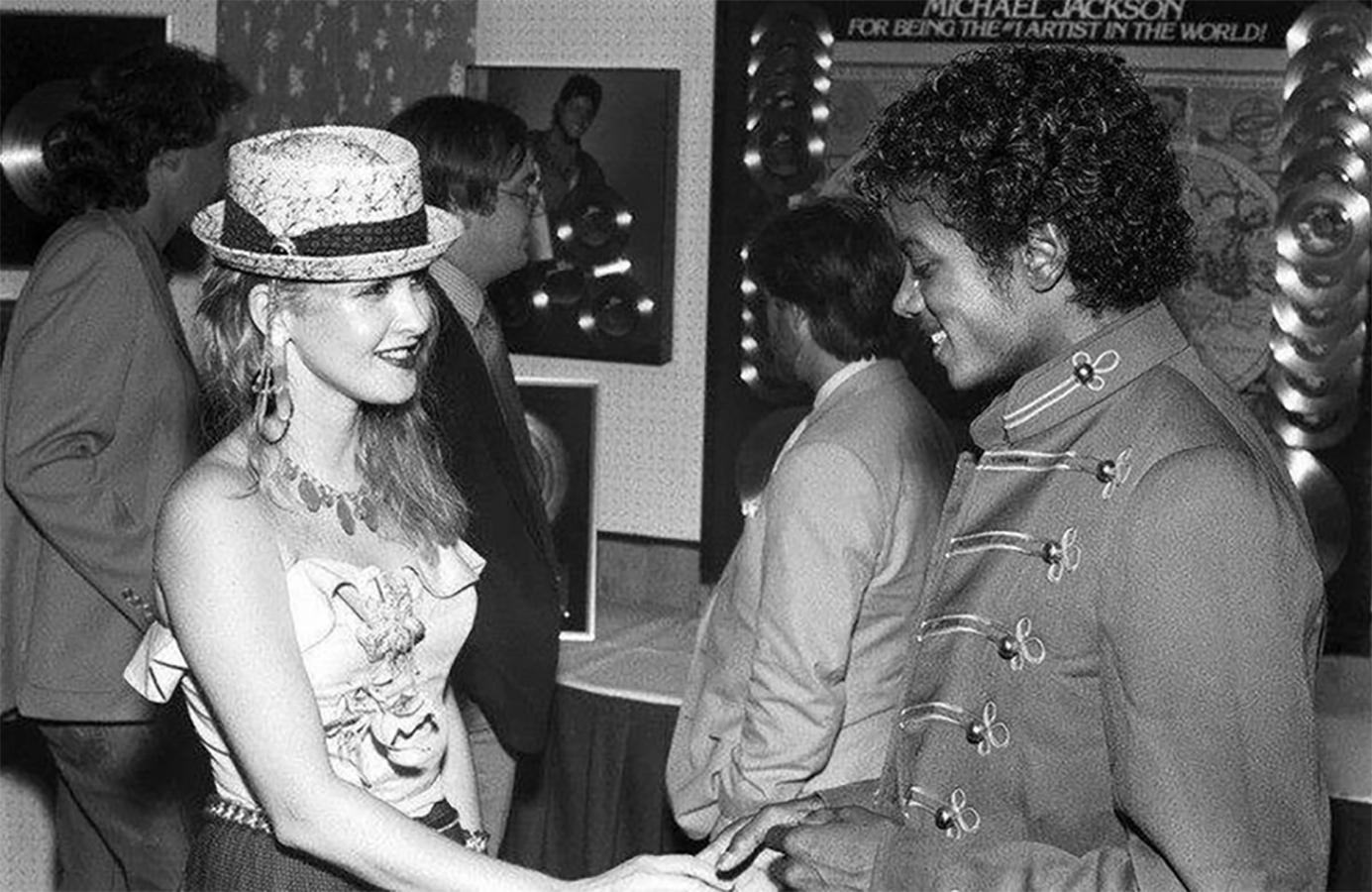Cyndi Lauper Reflects On Michael Jackson