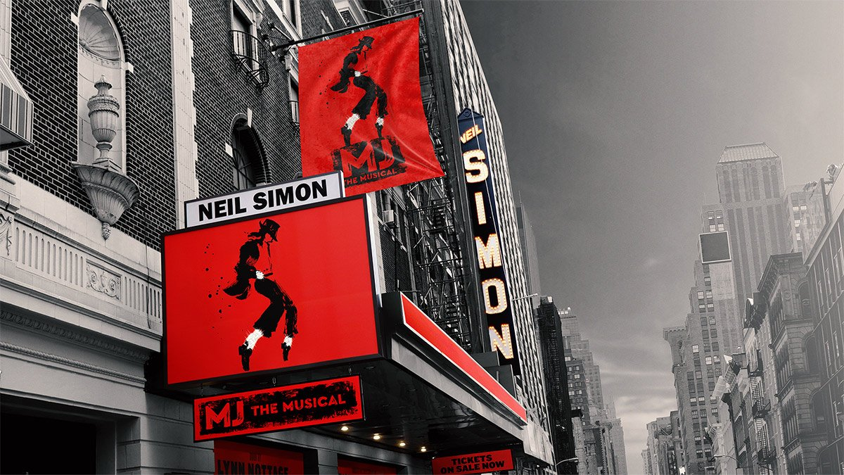 MJ: The Musical marquee