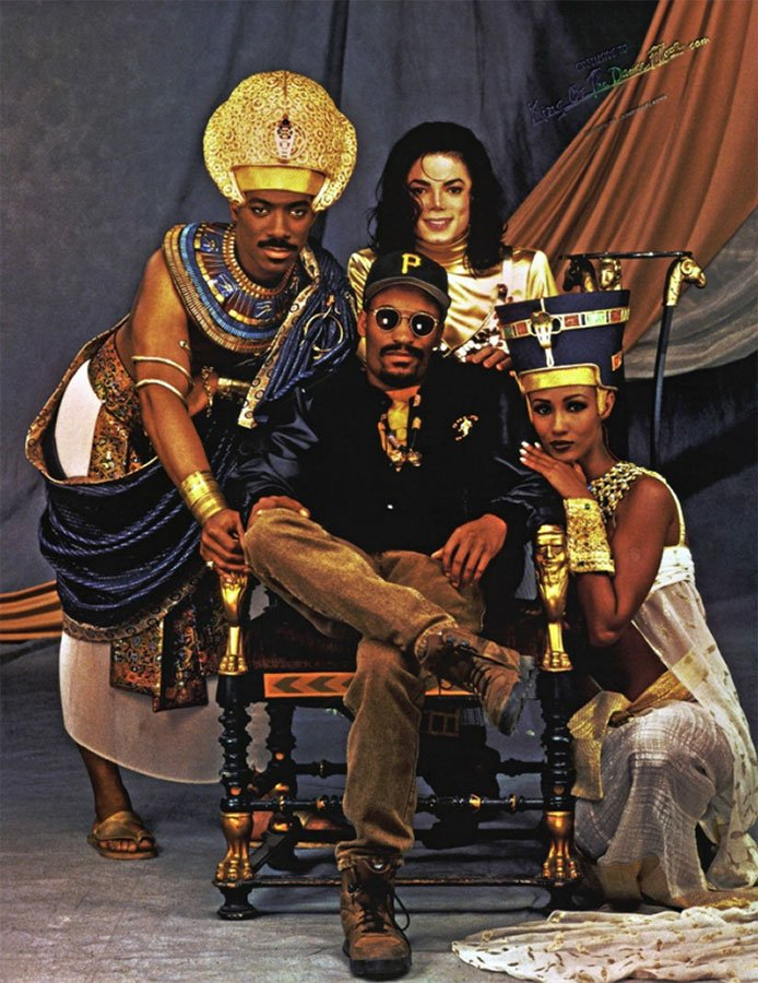 Michael Jackson On Creating The Video For 'Remember The Time'