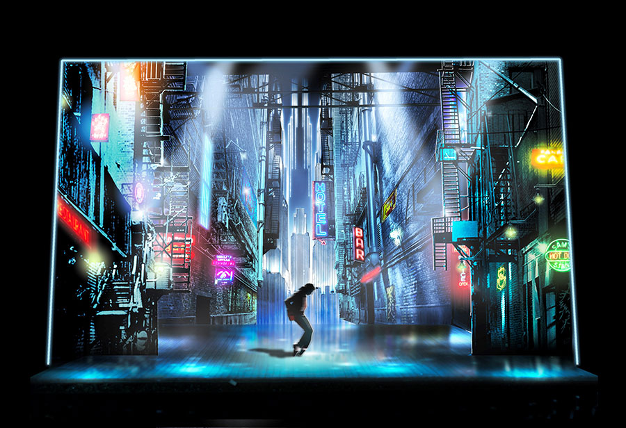 Sneak Peek Into The Set Design For MJ the Musical