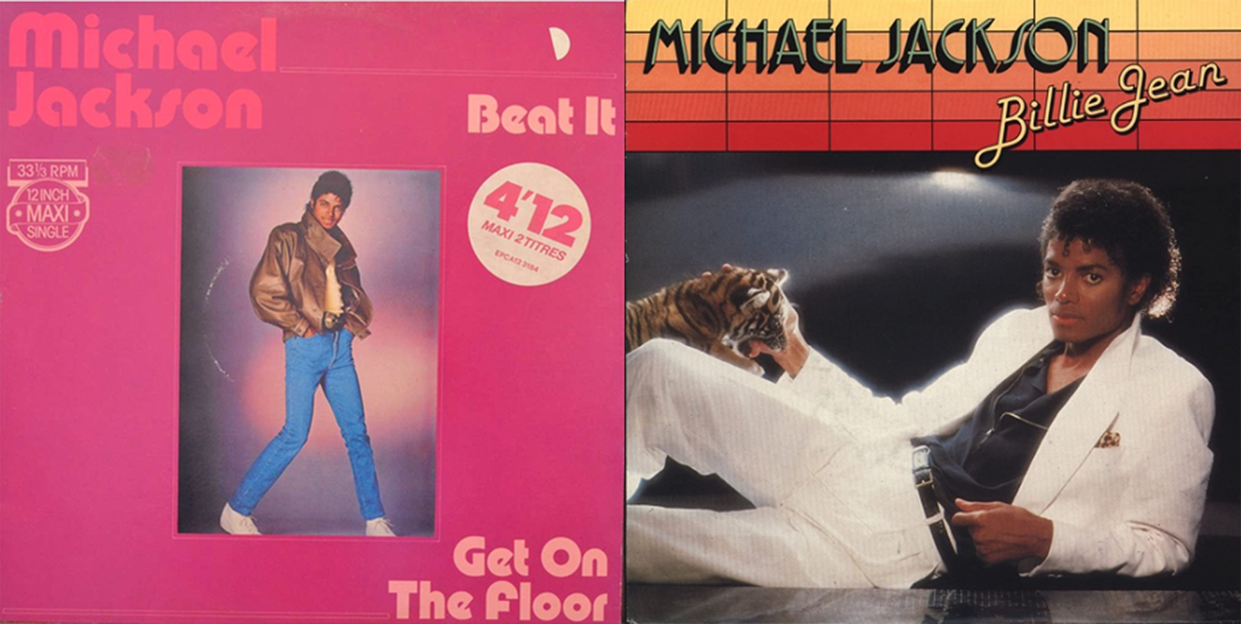 Which MJ Tracks Were Both On The Charts This Week In 1983?
