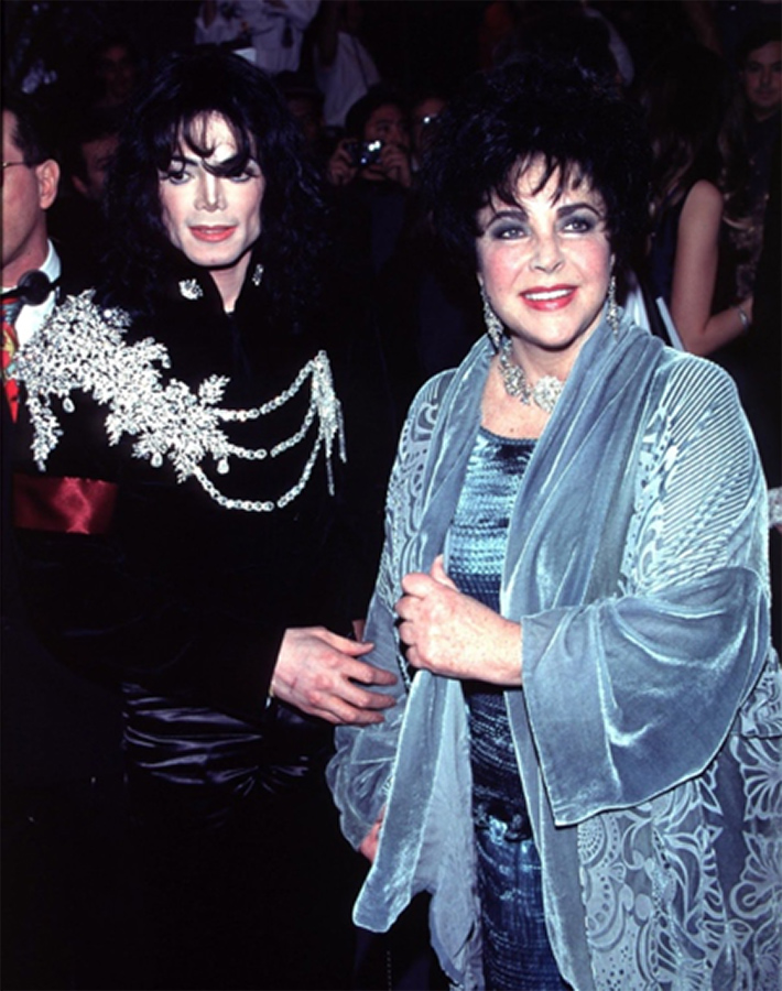 Elizabeth Taylor Is Featured In MJ's HIStory Liner Notes