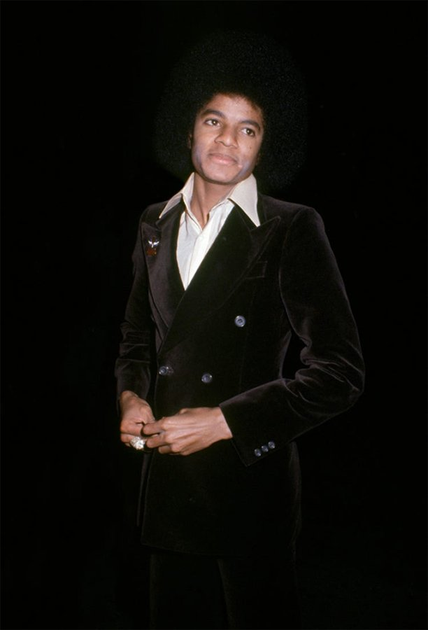 Michael Jackson at Studio 54 in 1978