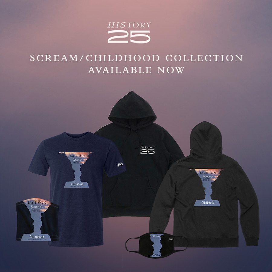 Michael Jackson HIStory 25 Scream/Childhood Collection
