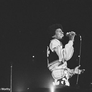 Michael Jackson performs with The Jackson 5 in Tokyo, Japan in 1973