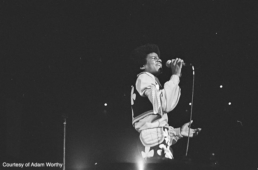 Michael Jackson performs in Tokyo, Japan in 1973