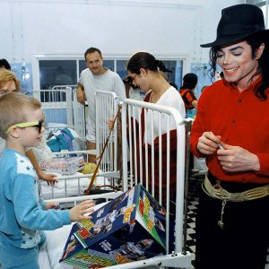 Michael Jackson charity work