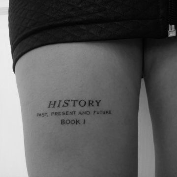 History Tattoo