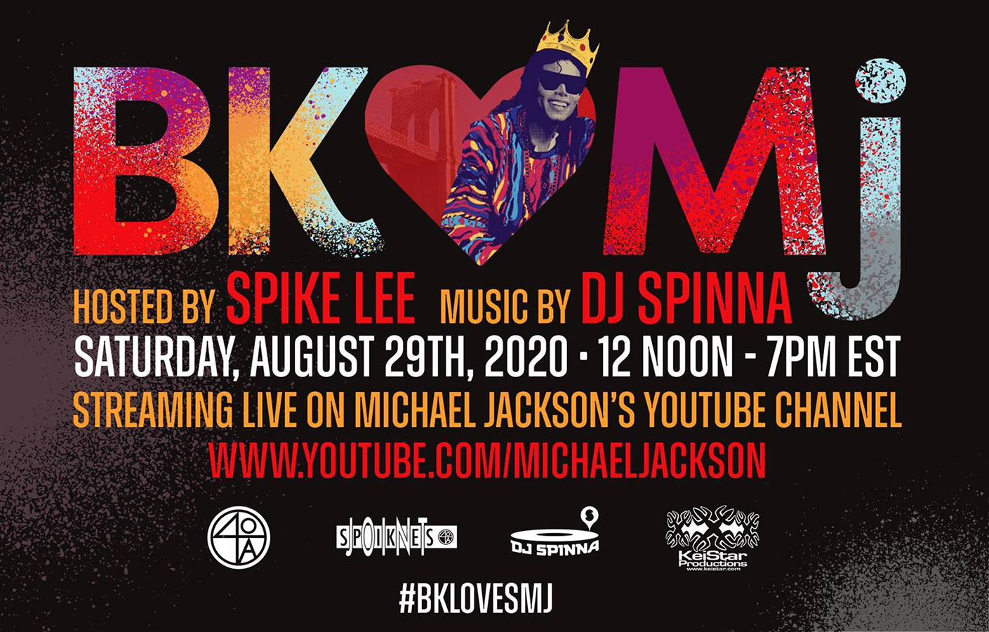 Don't Miss Spike Lee's Brooklyn ♥ MJ birthday stream
