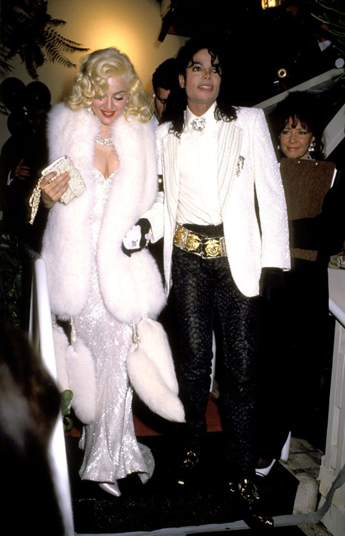 Michael Jackson and Madonna at the Oscars