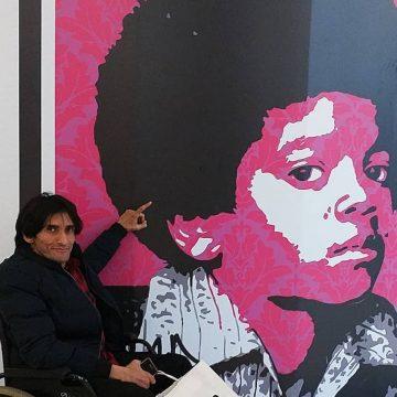 Michael Jackson Art in Morocco