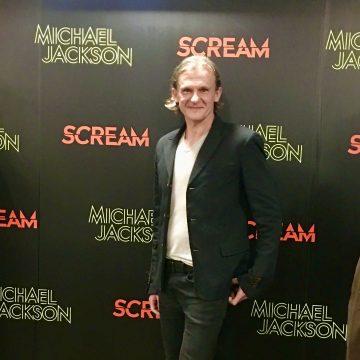 """World premiere of the album """"SCREAM"""" London ."""