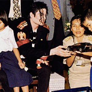 In 1996, MJ Gave His Time To Visually Impaired Children In Thailand During The HIStory World Tour