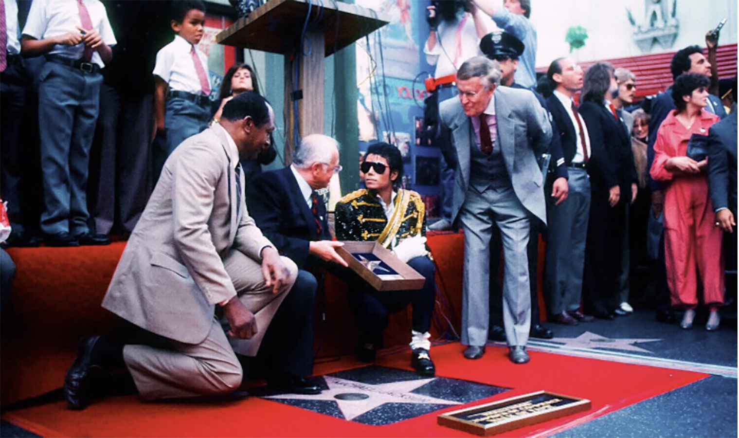 On This Day in 1984, Michael Jackson Received A Star On The Hollywood Walk of Fame