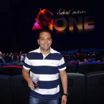 Augusto at Michael Jackson ONE
