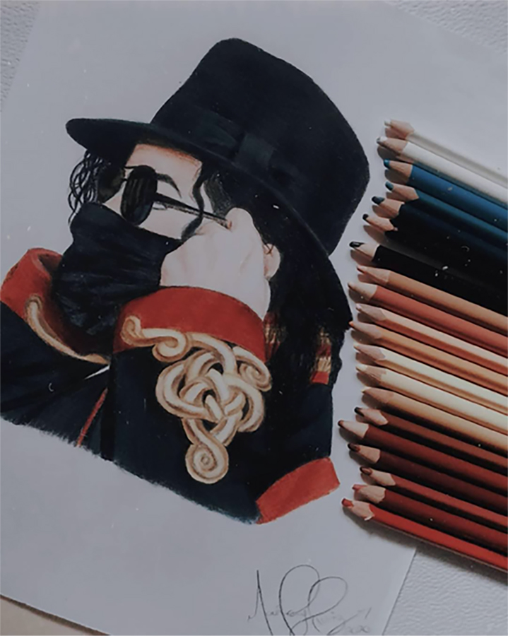 #FridayFanArtwork: Check Out This Fantastic MJ Drawing
