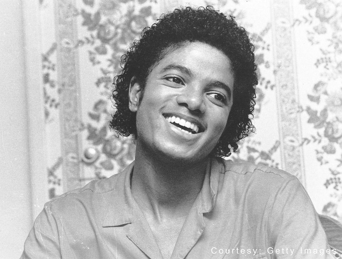 Michael Jackson in 1981