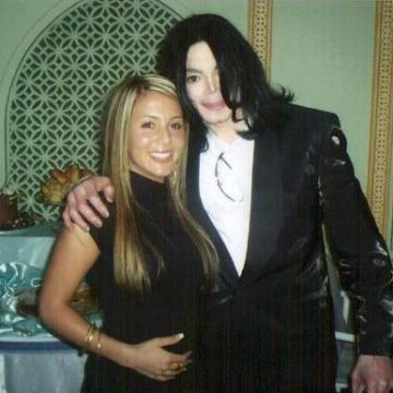 My wife and Michael
