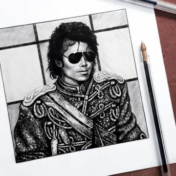 Biro Pen Drawing, AMA's 1984