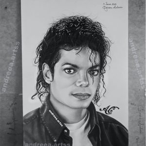MJ Fan, Andreaa, Creates Beautiful Portrait