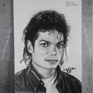 MJ Fan, Andreaa, Creates Beautiful Portrait