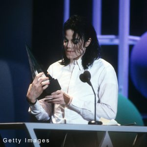 Michael Jackson at American Music Awards January 25, 1993