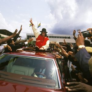 Michael Jackson In Libreville, Gabon In 1992