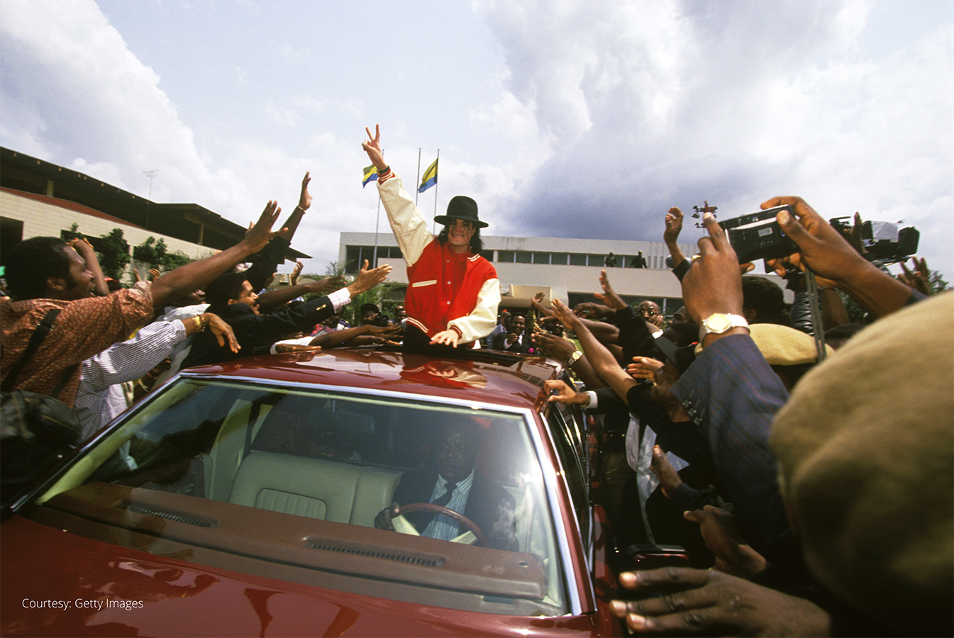 In 1992, MJ Visited Disabled Children Throughout Parts of Africa