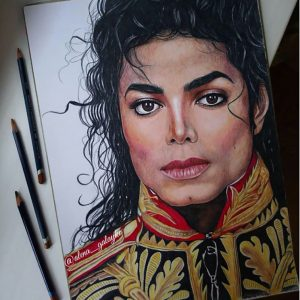 Fan Artist Creates A Michael Jackson Masterpiece