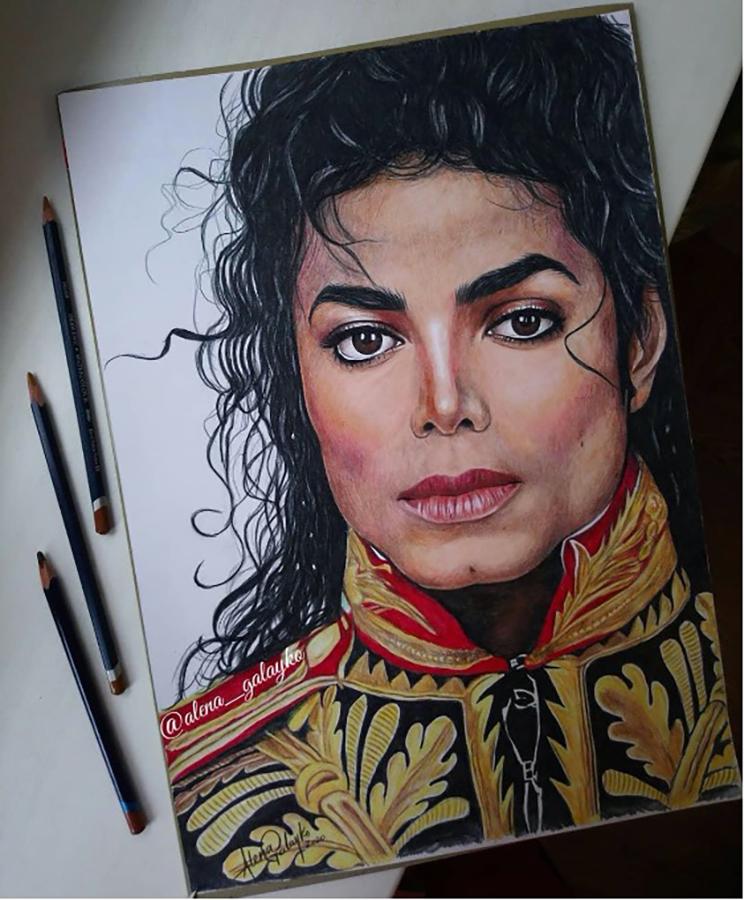 Fan Artist Creates A Michael Jackson Masterpiece
