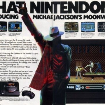 Moonwalker: the video game legacy of Michael Jackson