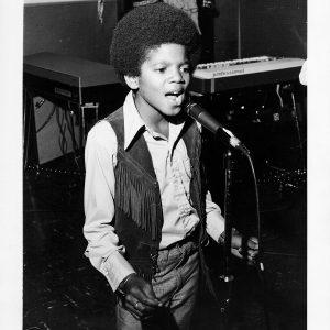 Michael Jackson performs onstage circa 1970
