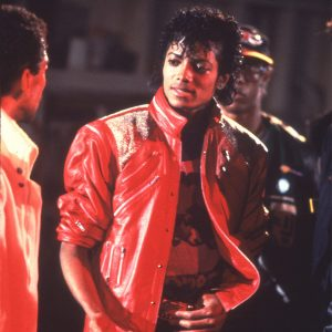 Michael Jackson making Beat It short film in 1983
