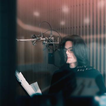 Michael Jackson Photoshop ( Recording )
