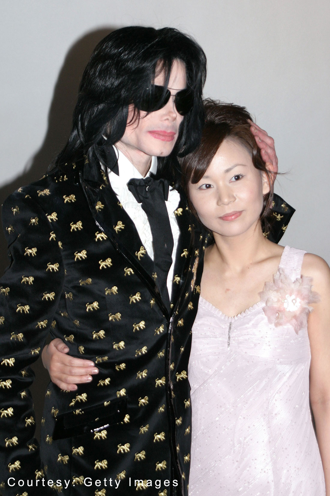Michael Jackson and a fan