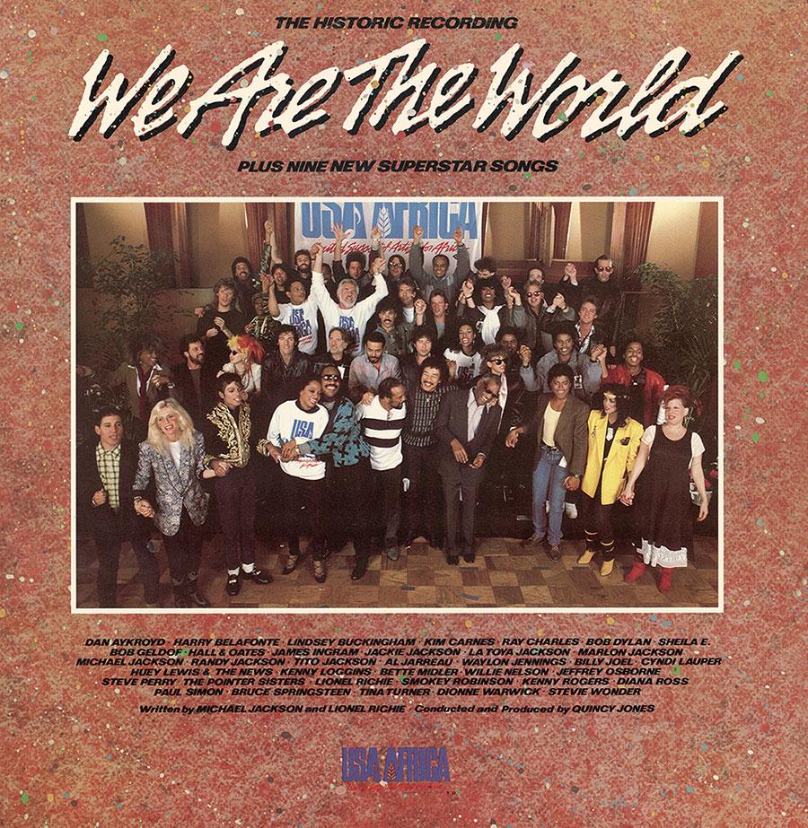 We Are The World album