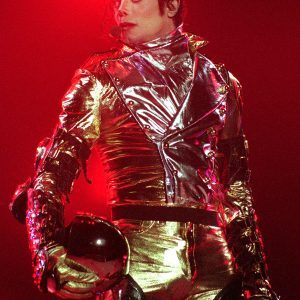 Michael Jackson performs in Auckland, New Zealand, on HIStory World Tour November 10, 1996