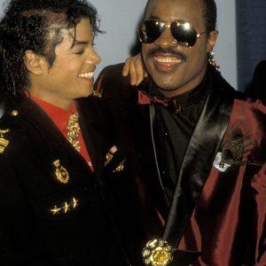 Michael Jackson and Stevie Wonder
