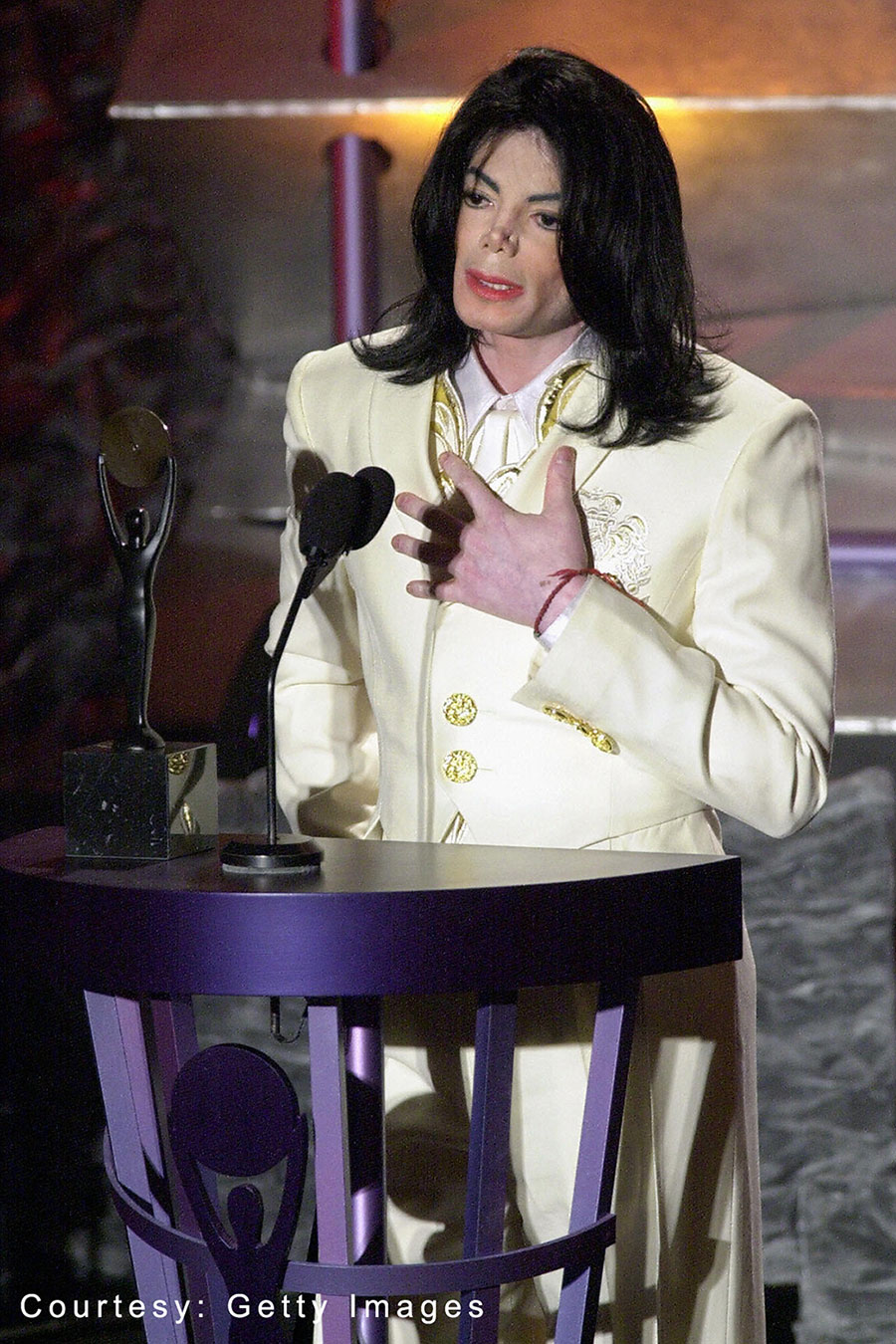 Michael Jackson inducted into Rock & Roll Hall of Fame as solo artist March 19, 2001
