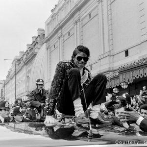 Michael Jackson with Fan