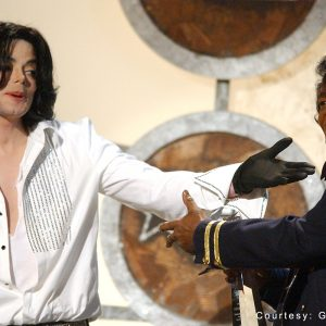 Michael Jackson with James Brown