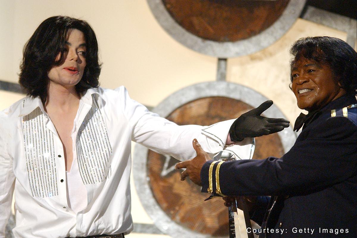 Michael Jackson with James Brown