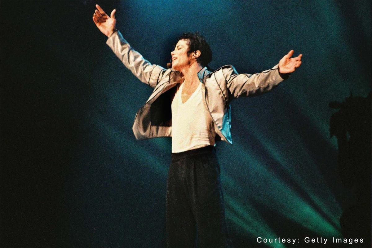Michael Jackson Performing