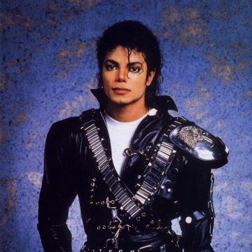 Michael dressing a black suit