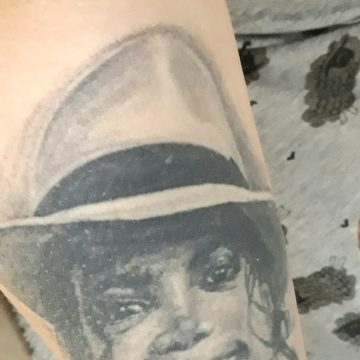 Smooth criminal tattoo