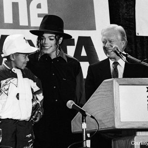 MJ Promoted Atlanta Child Immunization Drive In 1993