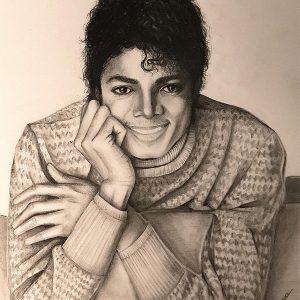 Fan Creates Charming Michael Jackson Artwork