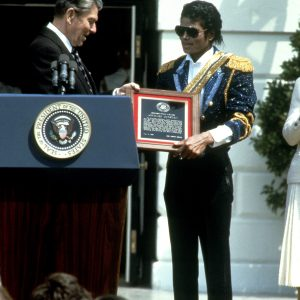 MJ Received Presidential Public Safety Communication Award In 1984