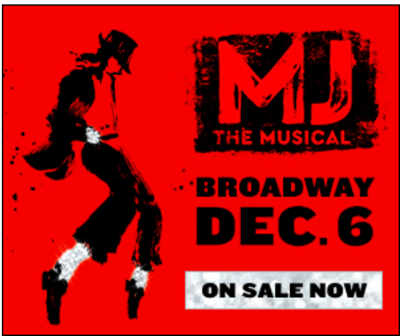 MJ the Musical coming to Broadway with previews starting December 6, 2021