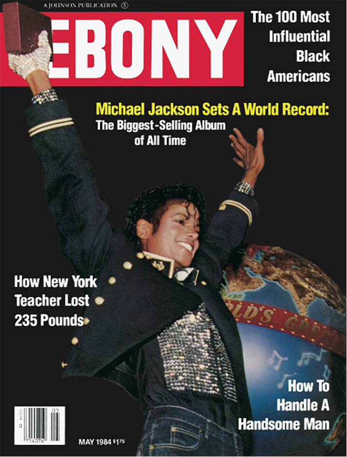 Michael Jackson On The Cover Of EBONY Magazine In 1984